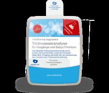 Trinkwasseranalyse für Säuglinge und Babys - Premium