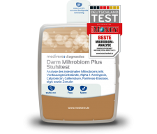 Darm-Mikrobiom Plus Stuhltest