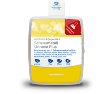 Schwermetall Urintest Plus