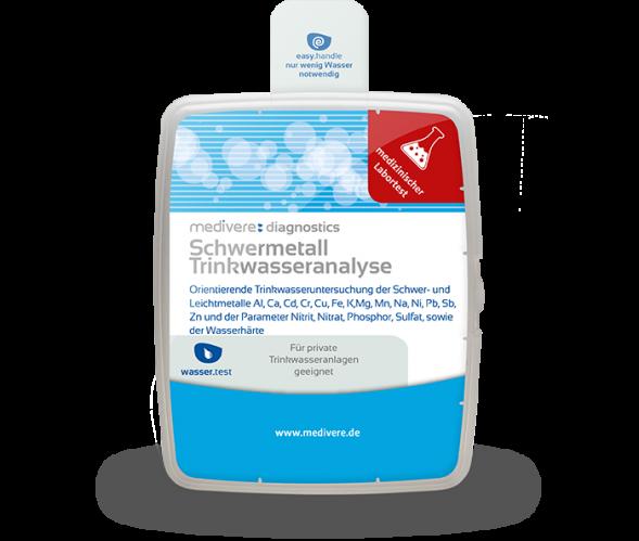 Schwermetall Trinkwasseranalyse