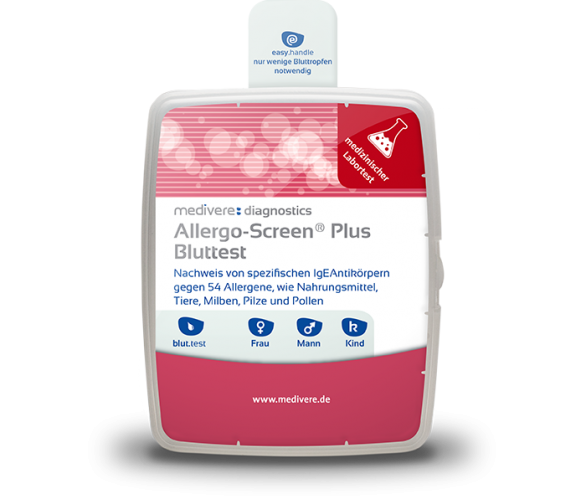 Allergo-Screen® Nahrungsmittel plus Bluttest