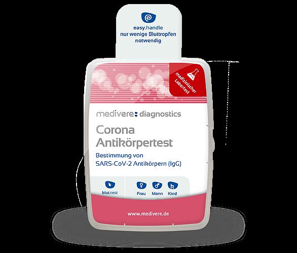 Corona Antikörpertest (IgG)
