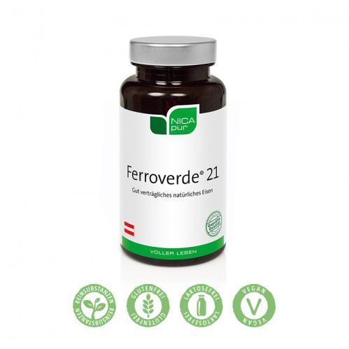 medivere:diagnostics | Ferroverde® 21 - 60 Kapseln | Labordiagnostik online