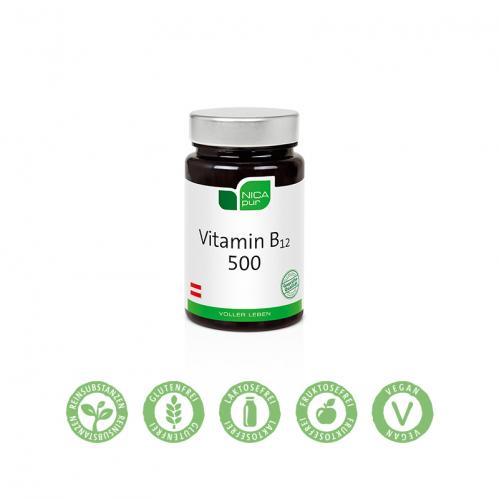 Vitamin B12 500 - 60 Kapseln