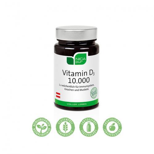 Vitamin D3 10.000 - 60 Kapseln